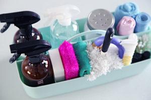 organisera ditt hemstäd med rätt städprodukter